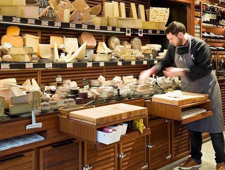 Сырный магазин Androuet