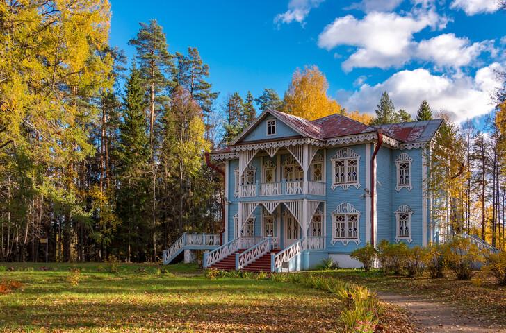 Дом дочери Островского в Щелыково