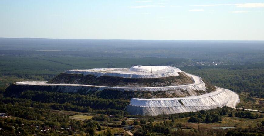Белая гора в Воскресенске