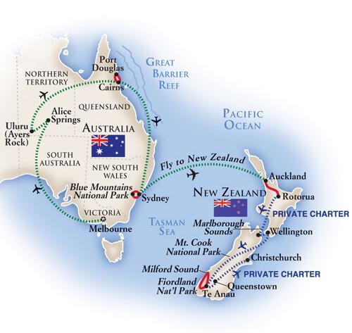 Австралия + Новая Зеландия за 2 недели