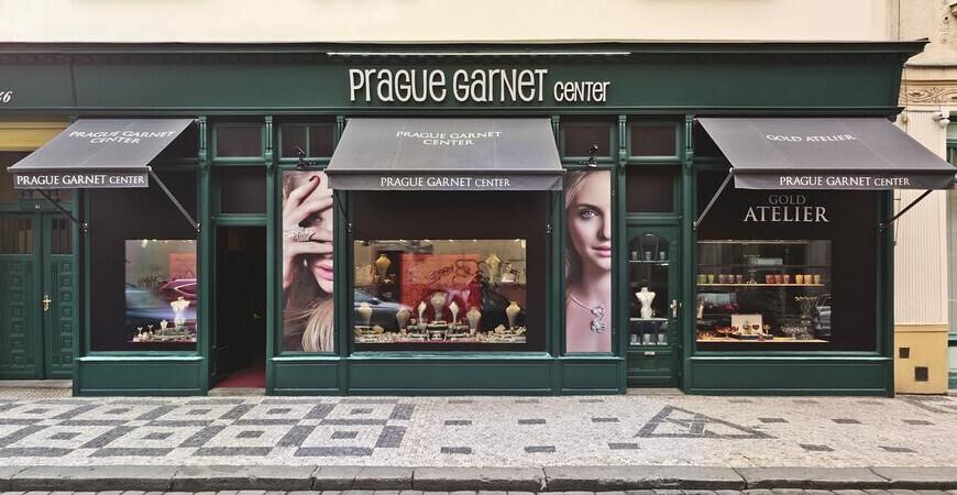 Ювелирный магазин Garnet Prague Center