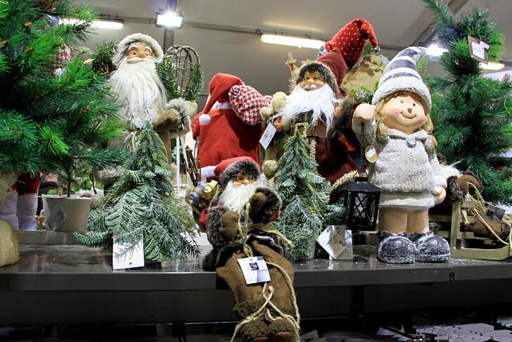 Сувениры на рождественской ярмарке