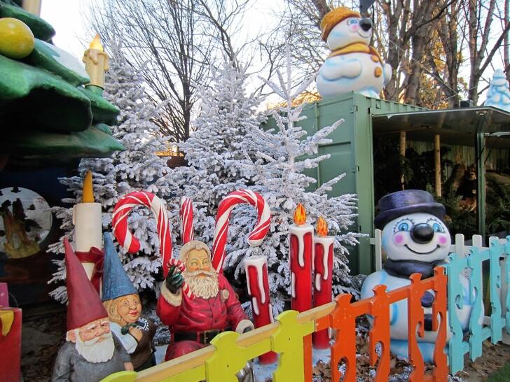 Рождественская ярмарка в саду Тюильри