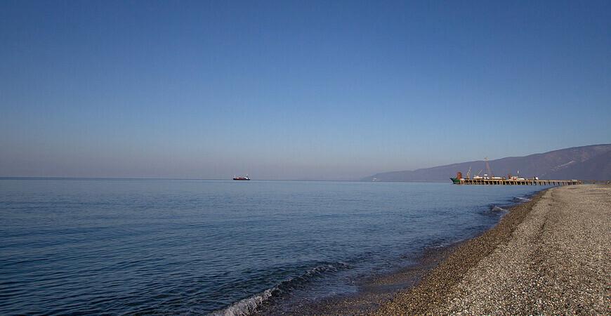 Пляж поселка Цитрусовый