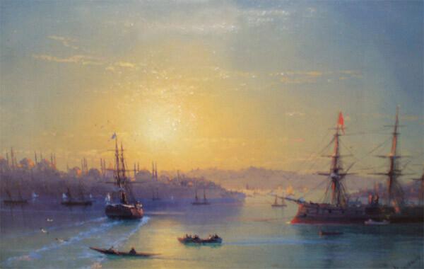 Картина Айвазовского в Художественном музее