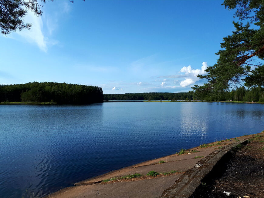 нахимовское озеро ленинградская область рыбалка