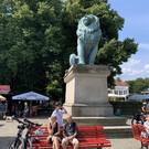 Памятник Фленсбургский Лев