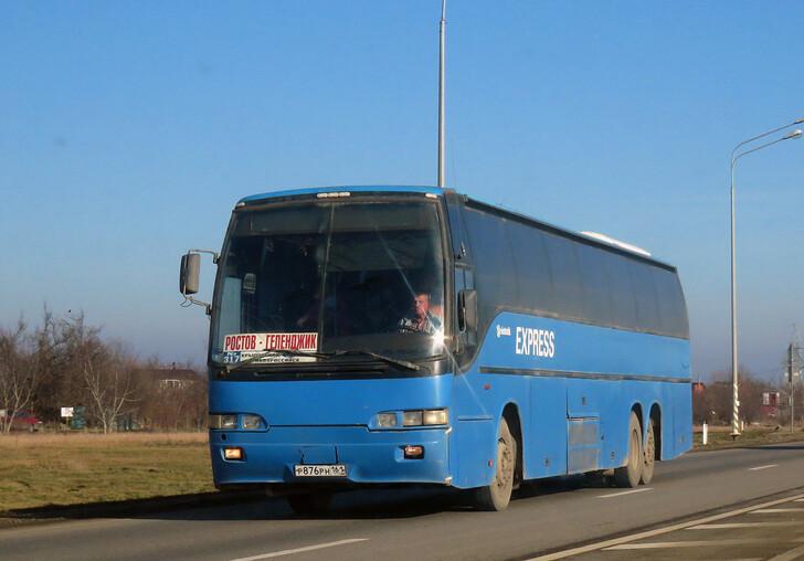 Автобус Ростов-на-Дону — Геленджик