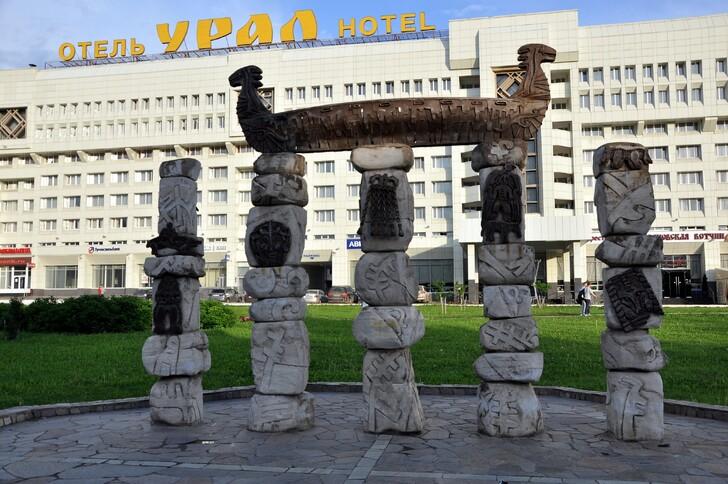 Скульптура «Кама-река»