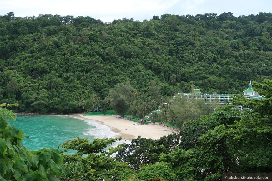 Пляж отеля Le Meridien