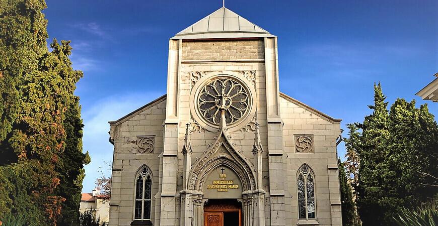 Католический костел в Ялте