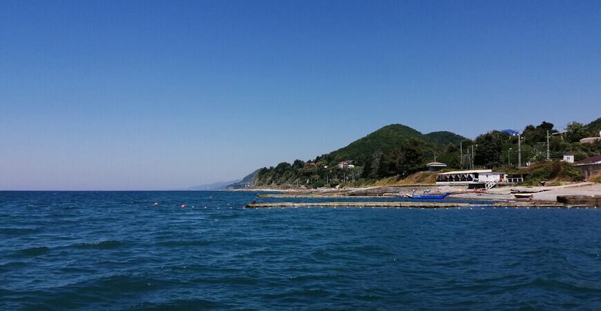 Центральный пляж Головинки