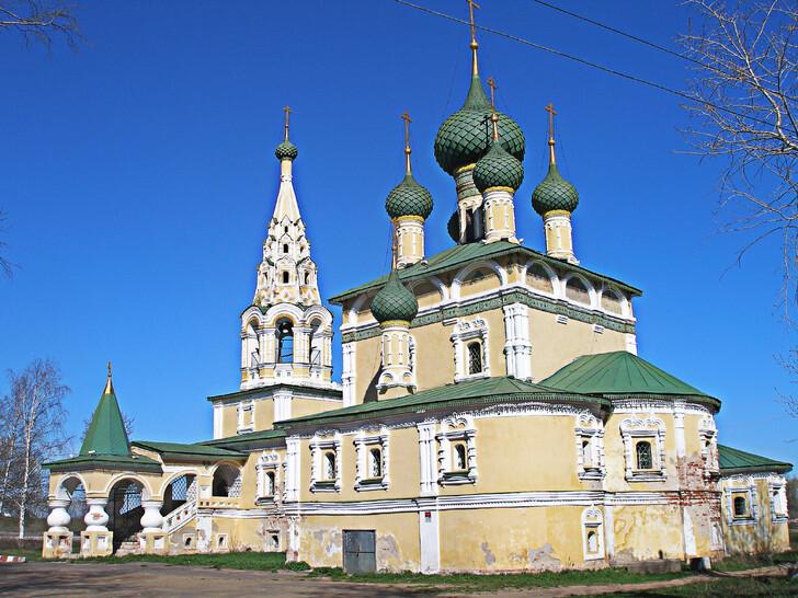 Церковь Рождества Иоанна Предтечи на Волге