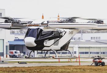 В Германии испытывают летающее такси