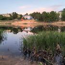 Силикатное озеро в Ленинском районе
