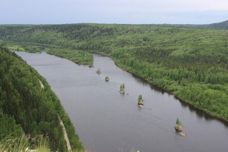 Вид на реку Вишера