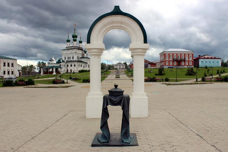 Соликамск (вход на Соборную площадь)