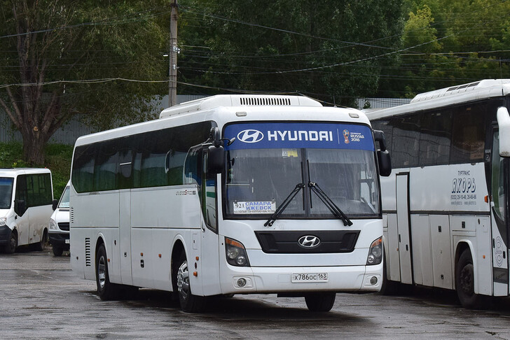 Автобус Самара — Ижевск