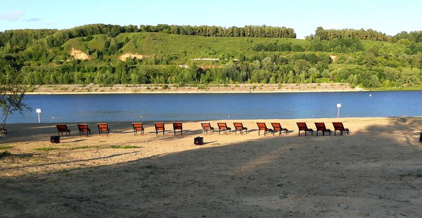 Молитовский пляж (25 лет Октября)