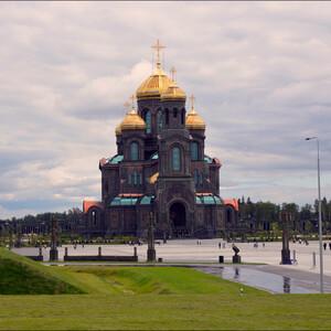 Собор Воскресения Христова или главный храм Вооруженных сил России открыли для посещения в День памяти и скорби – 22 июня и посвящен он естественно 75-летию победы в Великой Отечественной войне.