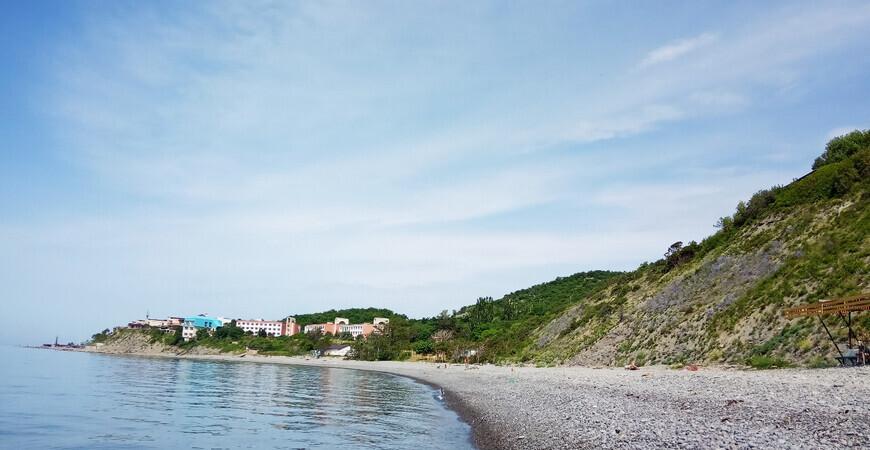Пляж пансионата им.Майстренко