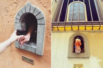 В Тоскане возродили традицию средневековых «винных окон»
