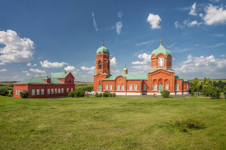 Музей имемориал героям Куликовской битвы вселе Монастырщино