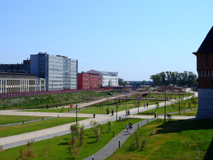 Казанская набережная