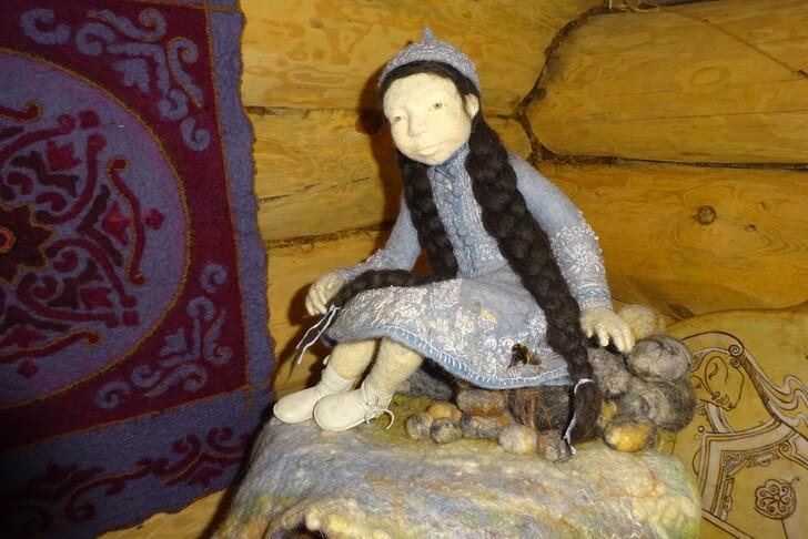 Куклы из войлока