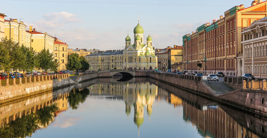 Семимостье в Санкт-Петербурге