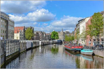 В Амстердаме создали карту, показывающую места скопления людей