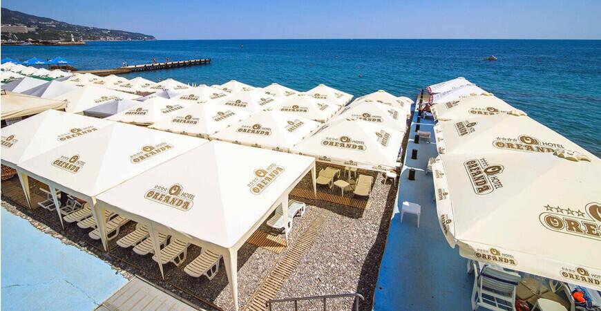 Пляж отеля «Ореанда»