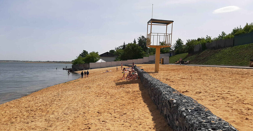Муниципальный пляж Смолино