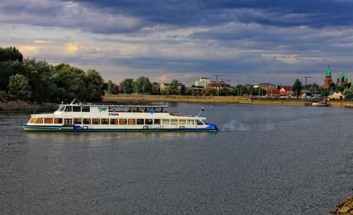 Речные прогулки по реке Кубань
