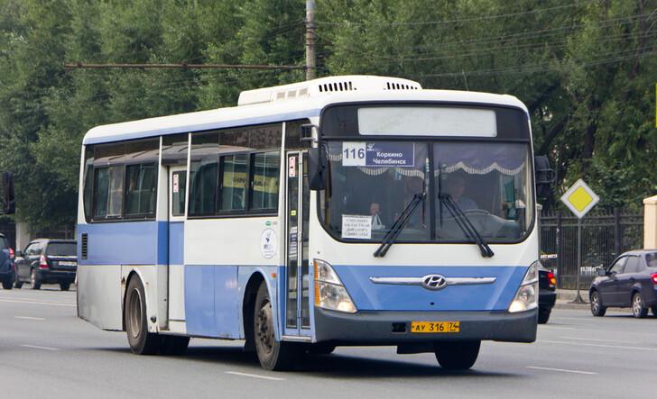 Автобус Челябинск — Коркино