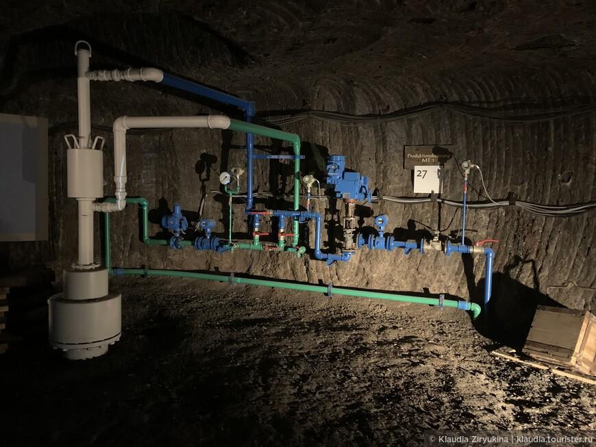Подземный мир соли — через границу под землей
