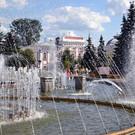 Сквер на улице Андропова