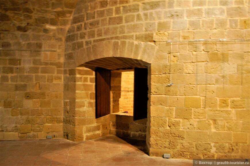 Культура, спрятавшаяся в крепостной стене