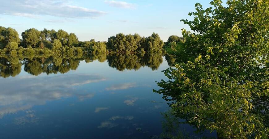 Святое озеро в Шиловском районе