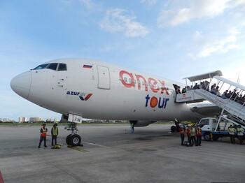 Первый рейс из Новосибирска в Анталию выполнила авиакомпания Azur Air