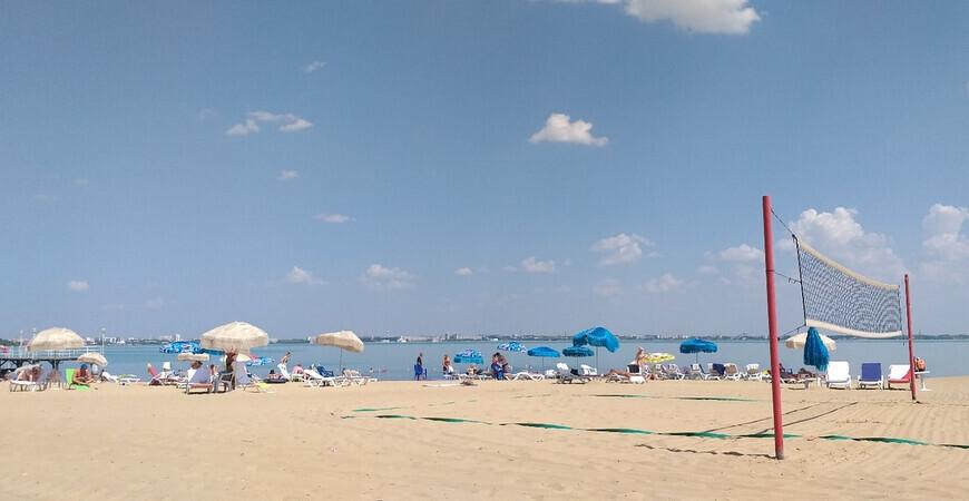 Пляж отеля «Березка»