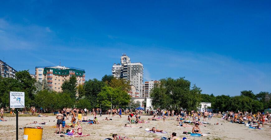 Пляж «Восход» («Путинский»)