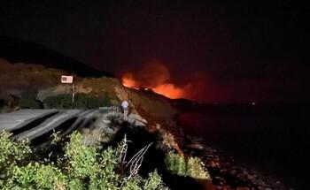 Режим ЧС введён в Анапе из-за лесного пожара в заповеднике Утриш, эвакуированы туристы