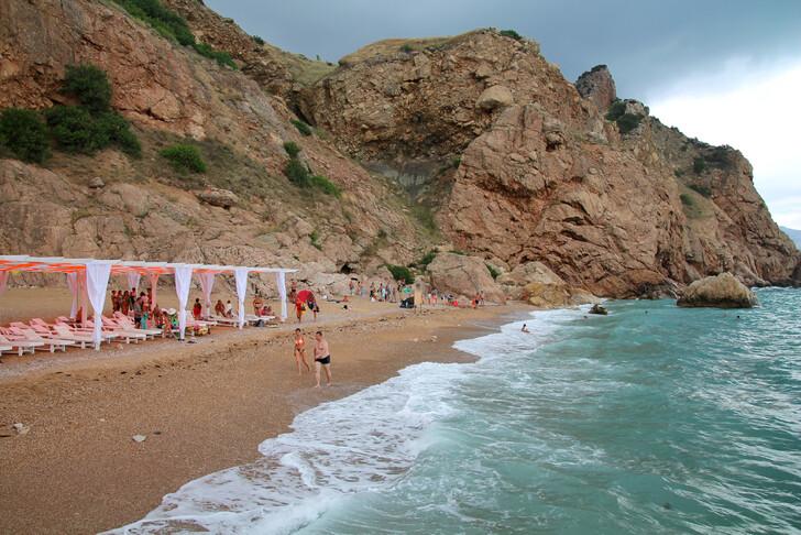 Пляж у Балаклавы