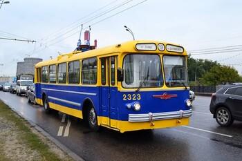 В Москве прекращено движение троллейбусов