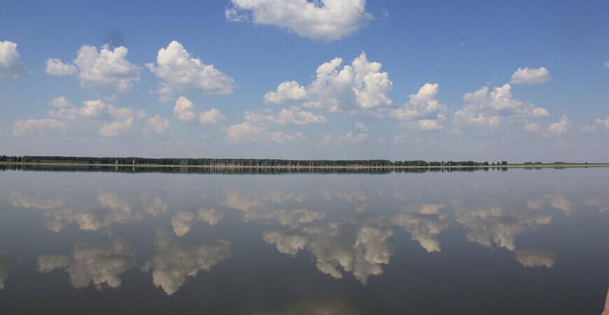 Озеро Тенис в Омской области