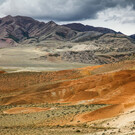 Алтайский Марс (Марсовые горы, Цветные горы Кызыл-Чина)