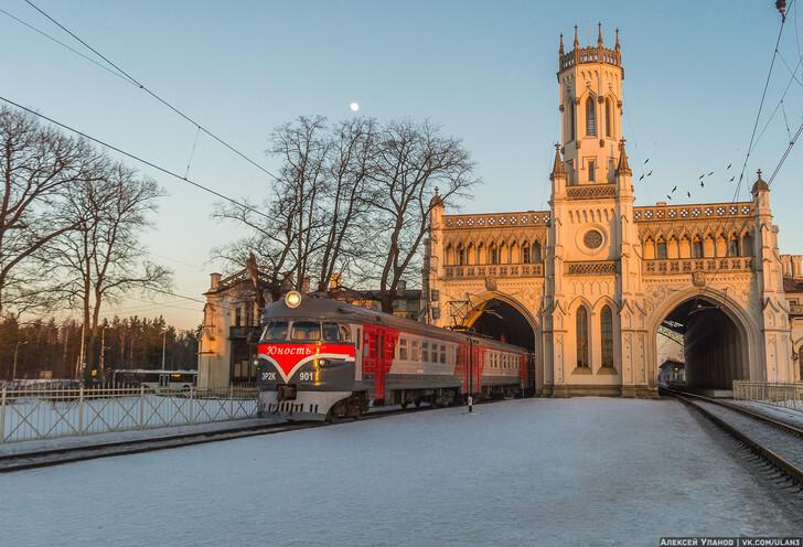 Станция Новый Петергоф
