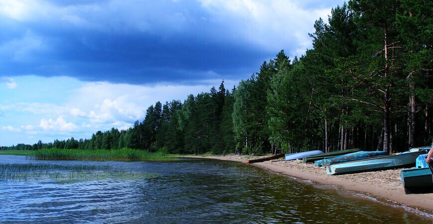 Озеро Двинье
