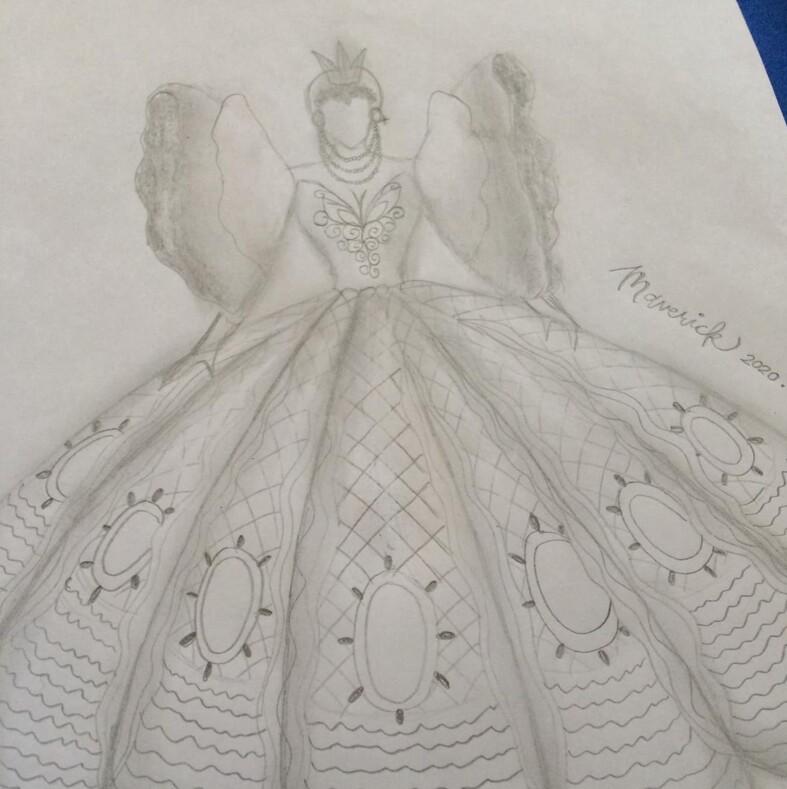 Родители не могли купить дочери платье на выпускной выручил брат девушки  он сшил сестре наряд, как для диснеевской принцессы